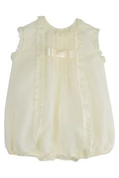 Granlei 1980 Ivory Lace Romper - Product List Image