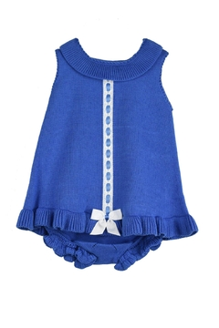 Granlei 1980 Knitted Blue Dress - Product List Image