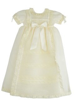 Granlei 1980 Organza Baptism Gown - Product List Image