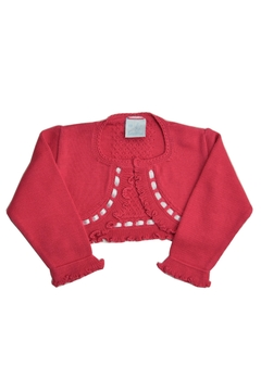 Shoptiques Product: Pink Knitted Bolero