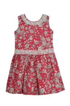 Granlei 1980 Red Floral Dress - Product List Image