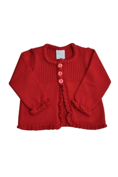 Shoptiques Product: Red Knitted Sweater