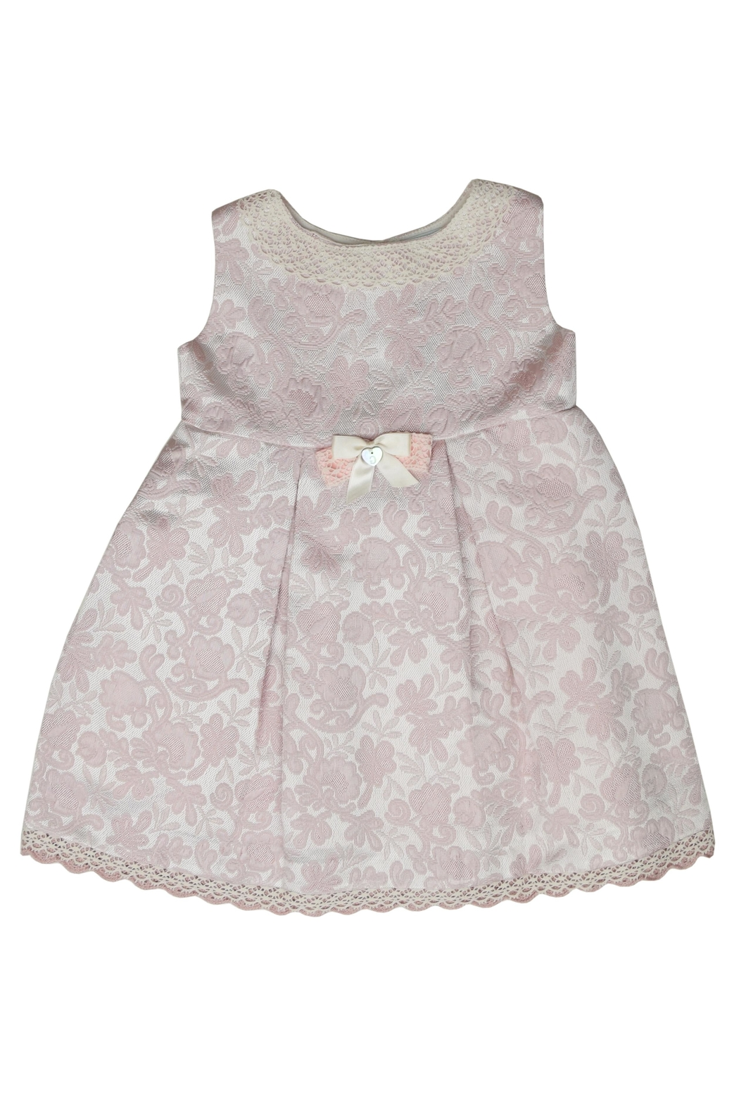Granlei 1980 Rose Floral Dress - Front Cropped Image