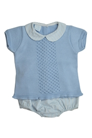 Granlei 1980 Stripe Collar Set - Front cropped