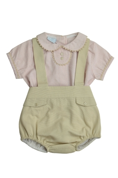 Granlei 1980 Stripe Overall Set - Product List Image