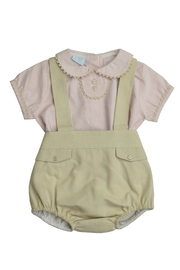 Granlei 1980 Stripe Overall Set - Front cropped