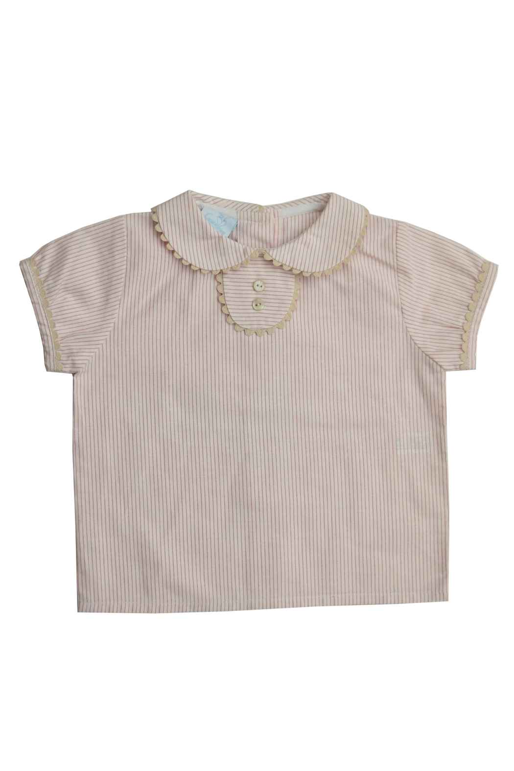 Granlei 1980 Stripe Overall Set - Side Cropped Image