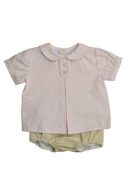Granlei 1980 Striped Shorts Set - Front cropped