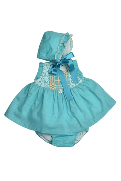 Granlei 1980 Teal Dress Set - Product List Image