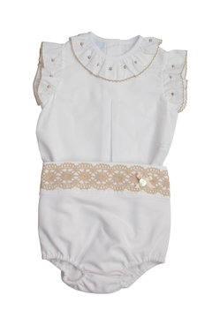 Shoptiques Product: White & Beige Outfit