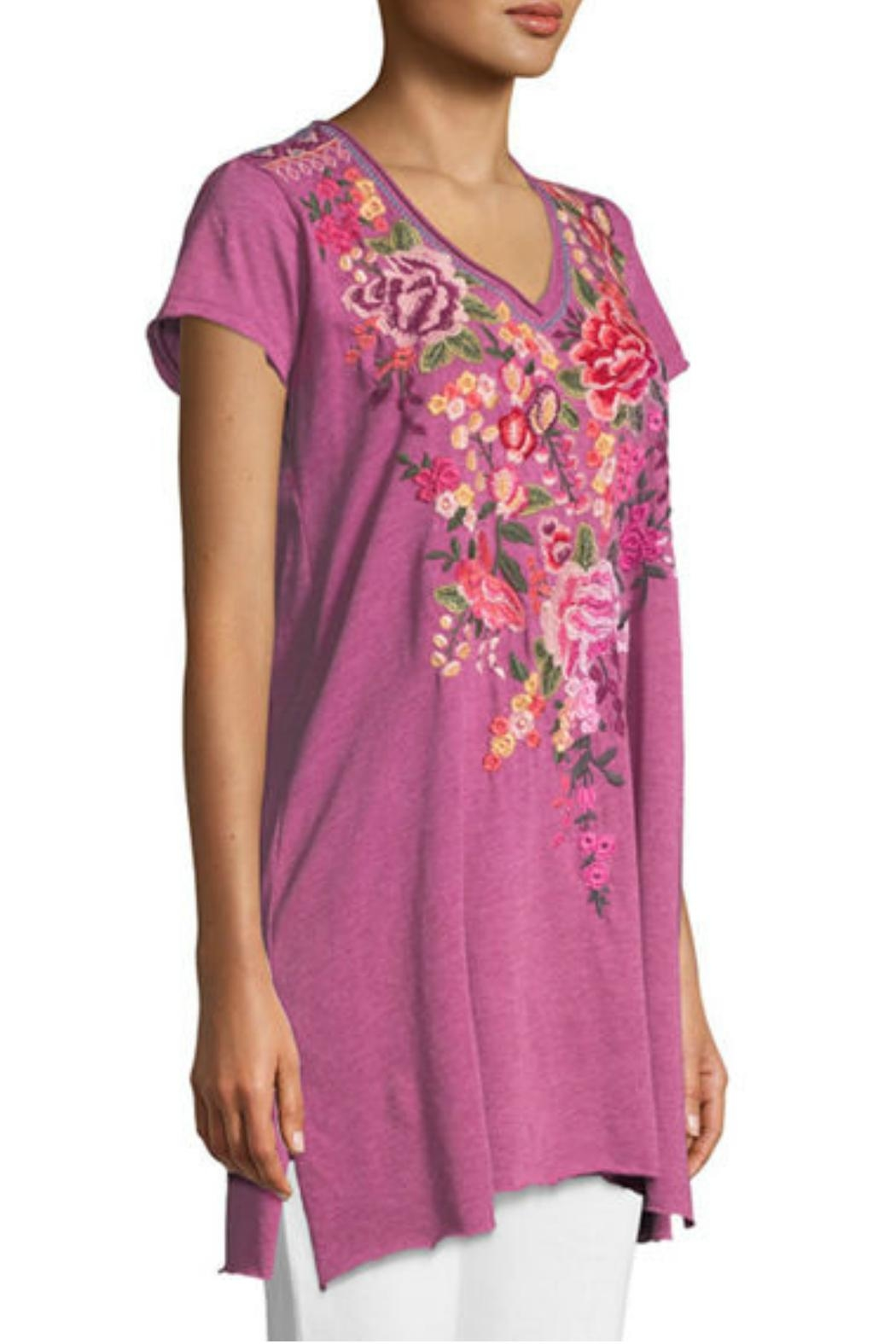 Johnny Was Grape Adeline Tunic - Main Image