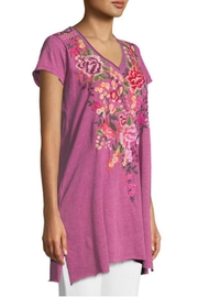 Johnny Was Grape Adeline Tunic - Product Mini Image
