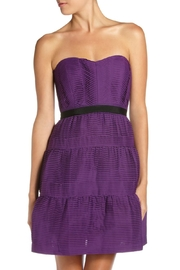 BCBGeneration Grape Woven Dress - Product Mini Image
