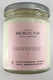 Broken Top Candle Co.  Grapefruit Scented Candle - Product Mini Image