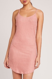 Jack by BB Dakota Grapefruit Suede Dress - Front full body