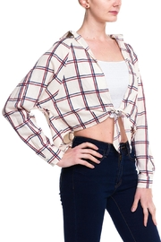 HYFVE Graph Tied Blouse - Front full body