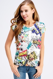 Nylon Apparel Graphic Comin Tee - Front cropped