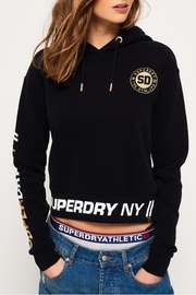 Superdry Graphic Hem Hoodie - Front cropped
