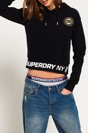 Superdry Graphic Hem Hoodie - Back cropped