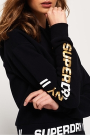 Superdry Graphic Hem Hoodie - Front full body