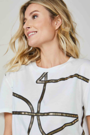 Summum Graphic Letters Tee - Front cropped