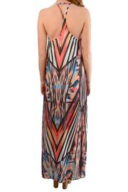 Alana Ferr Atelier Graphic Maxi Dress - Front full body