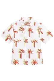 Stella McCartney Kids Graphic-Palms Cotton Shirt - Product Mini Image