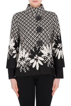 Shoptiques Product: Graphic Print Jacket