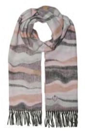 V. Fraas Graphic Waves Scarf - Product Mini Image