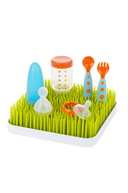 boon by Tomy Grass Countertop Drying Rack - Front full body