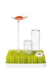 boon by Tomy Grass Countertop Drying Rack - Side cropped