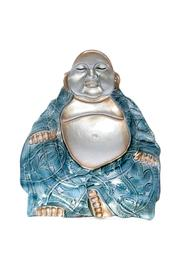 Grasslands Buddha Glass Platter - Front cropped