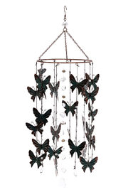 Grasslands Round Butterfly Chimes - Product Mini Image