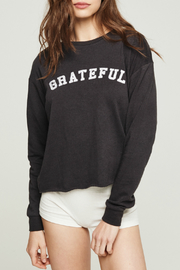 SPIRITUAL GANGSTER Grateful Arch Crop Sweatshirrt - Product Mini Image