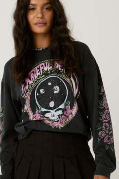 Day Dreamer LA  Grateful Dead Space Face Long Sleeve - Product List Image