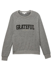 Spiritual Gangster  Grateful Old School Sweatshirt - Front full body