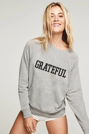Spiritual Gangster  Grateful Old School Sweatshirt - Front cropped
