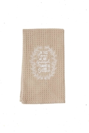 Mud Pie Grateful-Thankful-Blessed Towel - Product Mini Image