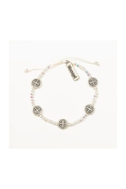 My Saint My Hero Gratitude Crystal Bracelet - Front cropped