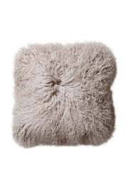 RENDR Gray Fur Pillow - Front cropped