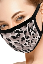 Ninexis GRAY LEOPARD FACE MASK - Product Mini Image