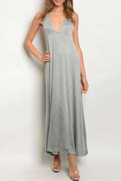 Mustard Seed Gray Maxi Dress - Product List Image