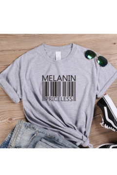 Tiny House of Fashion Gray Melanin Priceless T-Shirt - Product List Image