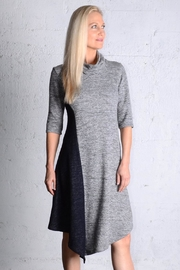 gr.dano Gray-Navy Dress - Front cropped