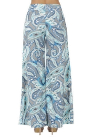 Aryeh Gray Printed Pants - Back cropped