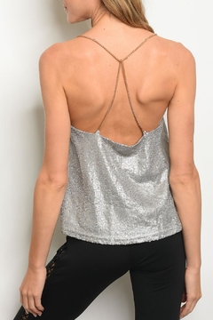 Casting Gray Sequin Top - Alternate List Image