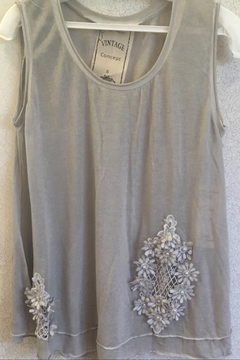 Vintage Concepts Gray silver accent tank - Product List Image