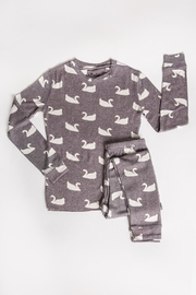 PJ Salvage Gray Swan Pjs - Front cropped