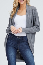 Wild Lilies Jewelry  Gray Thermal Cardigan - Product Mini Image