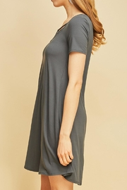 Entro Gray Tunic - Side cropped